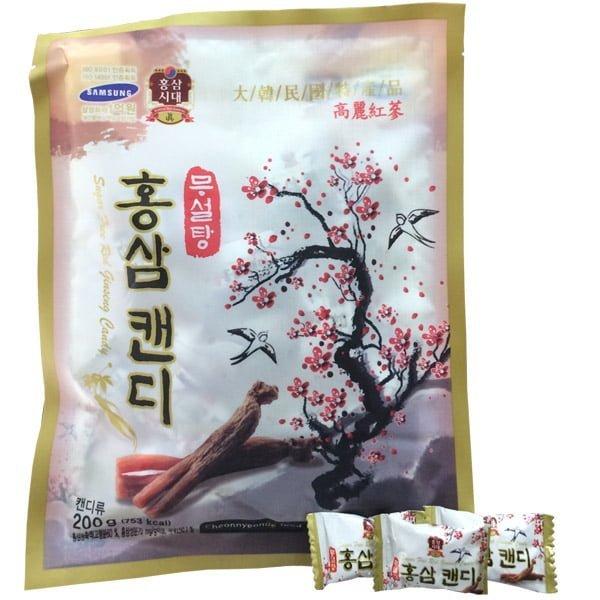 Kẹo Hồng Sâm Cành Đào 200gr